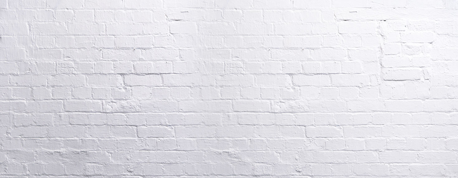 First blank white wall