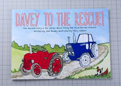 Davey to the Rescue self published children's book