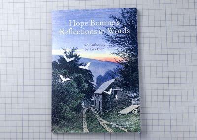 Hope Bourne's Reflections in Words book - series 4 of the Exmoor Society collection