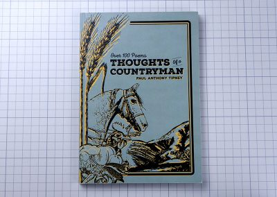 Self published poetry book called Thoughts of a Countryman